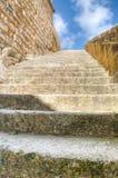 Камень шагает снаружи в Мальту стоковое изображение