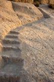 камень шагов Стоковая Фотография