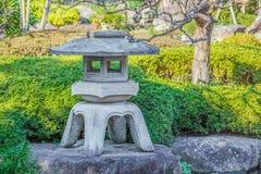 камень японского фонарика Стоковое Изображение RF