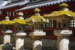 камень японского фонарика Стоковое Изображение
