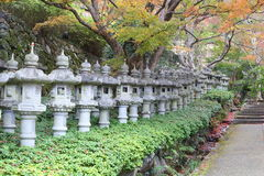 камень японского фонарика Стоковые Изображения RF