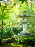 камень японского фонарика Стоковая Фотография RF