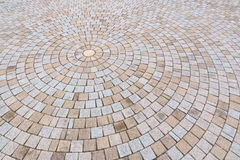Камень Duotone желтый и серый кирпича на том основании для улицы Roa Стоковые Фотографии RF