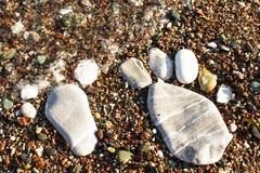 Камень foots Стоковая Фотография