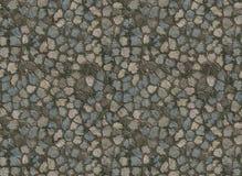 камень paver путя крыл черепицей Стоковая Фотография