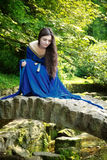 камень princess моста средневековый Стоковые Фото