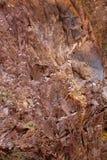 камень rodeno горы естественный красный Стоковое Изображение RF