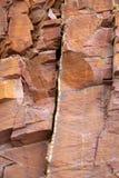 камень rodeno горы естественный красный Стоковые Фотографии RF