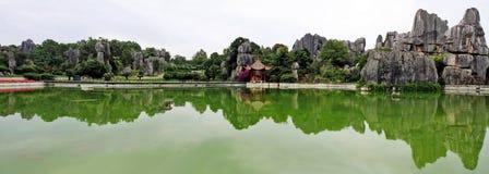 камень shilin парка пущи стоковые фото