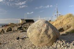 Камень Thoras Святого Torekov Стоковые Изображения