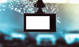 Камера автомобиля CCTV для безопасности на дорожном происшествии Стоковые Изображения