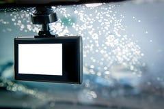 Камера автомобиля CCTV для безопасности на дорожном происшествии Стоковое фото RF