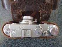 Камера дальномера Zorki c винтажная стоковая фотография