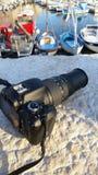 Камера в St Tropez стоковые изображения