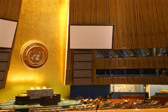 Камера Генеральной Ассамблеи Стоковое фото RF