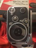 Камера года сбора винограда Bolex 8mm Стоковое фото RF