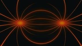 Камера двигая в петлю безмерного пространства решетки 3d Высокая предпосылка движения определения отличая бесконечным тоннелем  иллюстрация вектора