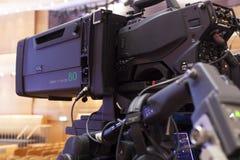 камера закрепляя видео профессионала цифрового путя аксессуары для видеокамер 4k Стоковая Фотография