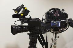 камера закрепляя видео профессионала цифрового путя Стоковое Изображение