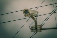 Камера замкнутой телевизионной системы Стоковое Изображение
