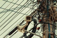 Камера замкнутой телевизионной системы Стоковая Фотография RF