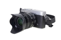 Камера изолированная на белизне Стоковое Изображение RF