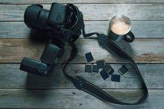 Камера и карта памяти фото стоковые изображения rf