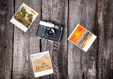 Камера и фото от Бали Стоковое фото RF