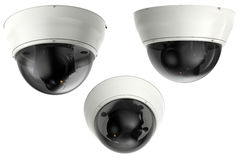 камера камеры слежения или cctv перевода 3d Стоковые Фотографии RF