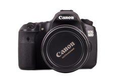 Камера канона 60D Стоковые Изображения