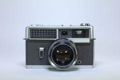 Камера металла винтажная на белой предпосылке стоковые фото