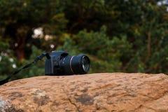 Камера на камне стоковое изображение