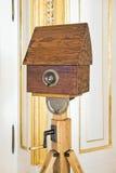 камера обскура старая Стоковые Фотографии RF