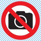 камера отсутствие знака фото отсутствие знака съемки Стоковые Фото