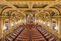 Камера Палаты Представителей стоковое изображение