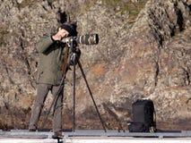 камера проверяя шестерню его Стоковые Изображения RF