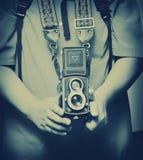 камера ретро Стоковые Фото