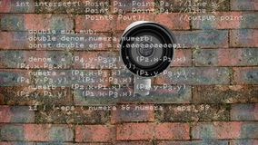 Камера слежения и коды видеоматериал