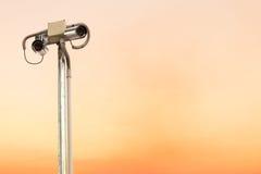 Камера слежения или CCTV. Стоковая Фотография