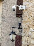 Камера слежения на стене Стоковые Фотографии RF