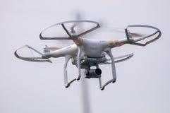 Камера слежения трутня воздуха Стоковая Фотография RF