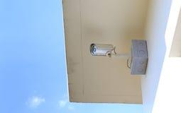 Камера слежения CCTV для дома стоковое фото