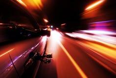 Камера установила на стороне автомобиля в движении Стоковое Изображение RF