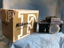 Камера фильма Nikon винтажная стоковая фотография