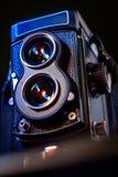 Камера фильма TLR стоковые фотографии rf