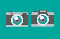 Камера фото плоская Стоковая Фотография RF