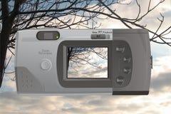 камера цифровая Иллюстрация вектора