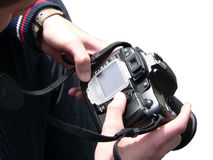 камера цифровая Стоковое Изображение