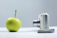камера яблока цифровая Стоковое фото RF