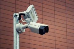 Камера CCTV контроля стоковые изображения